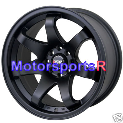 16 8 XXR Wheels 522 Concave Black 03 Scion xB Miata E30