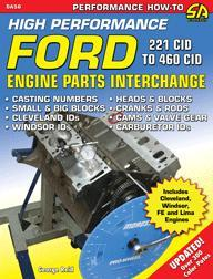 Ford Engine Performance Parts Interchange 289 302 427