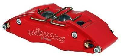 Wilwood Red Dynapro 6 Piston Lug Mount Brake Calipers