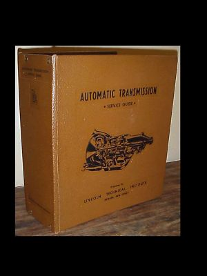 Vintage 1971 Automatic Transmission Service Guide BOOK