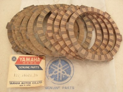 1 NOS Yamaha Clutch Friction Plates YG1 YJ1 YJ2