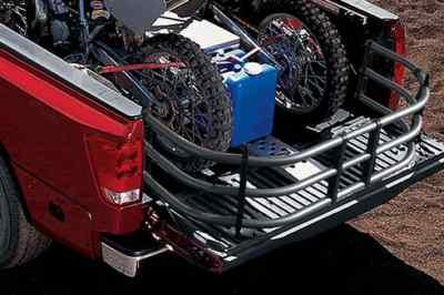 2011 TITAN SLIDING BED EXTENDER CREW CAB OEM NISSAN
