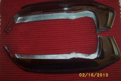 196872 Chevy NOVA rear bumper guards and nos rubbers