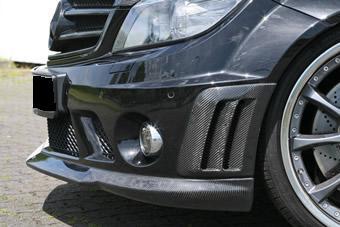BENZ W204 AMG C63 Front Bumper Carbon Fiber Vent Covers