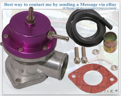 Universal Turbo Blow Off Valve BOV Type S/RS PURPLE