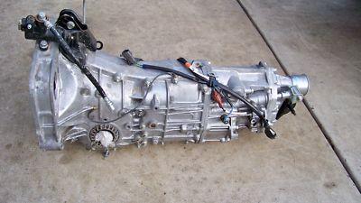 subaru impreza WRX turbo MANUAL TRANSMISSION  TRANNY 19
