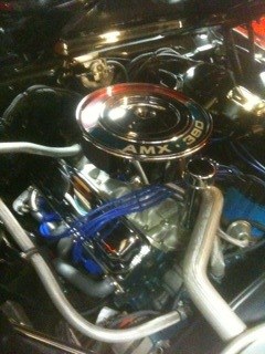 1968 AMC Rebuilt 390 engine and tranny