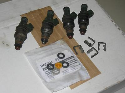 Porsche 944 turbo 951 Fuel Injectors Injector and seal