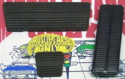 Automatic Transmission Brake & Gas Pedal Pad Set