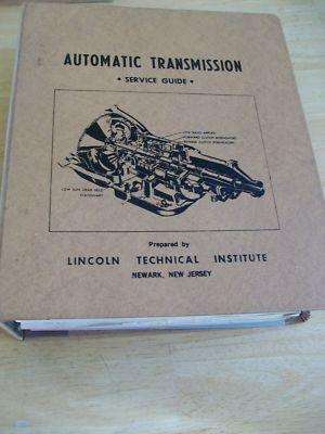 1960's Automatic Transmission Brakes Service Guide