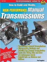 HOW TO BUILD & MODIFY HI PERF MANUAL TRANSMISSIONS BOOK
