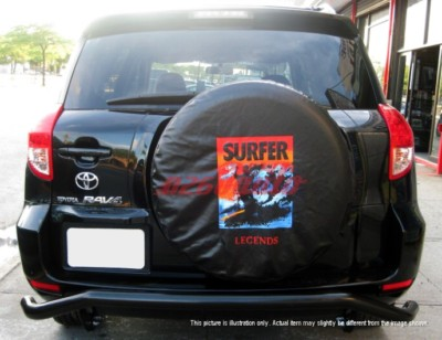 0611 Toyota RAV4 Rear Bumper Guard Protector Cover Bk