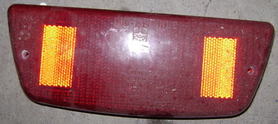 1988 SkiDoo Liquid Snowmobile Tail Brake Light Cover