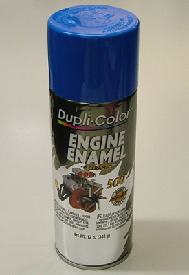 DupliColor DE1601 Ford Blue Engine Spray Paint