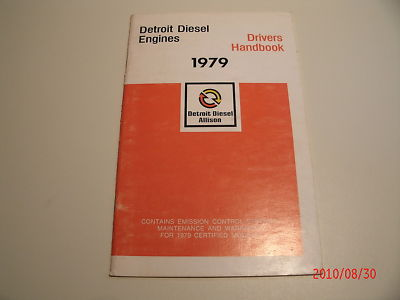 Detroit Diesel Engines Drivers Handbook