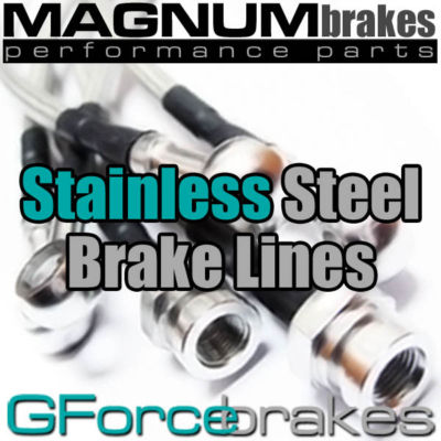 BMW E38 740i (1998  2001) Stainless Steel Brake Lines