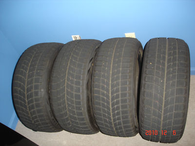 Barely  (4) Bridgestone Blizzak WS60 winter tires