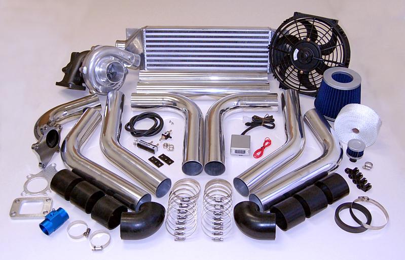 Jeep Wrangler  T3T4 TurboCharger Turbo Kit