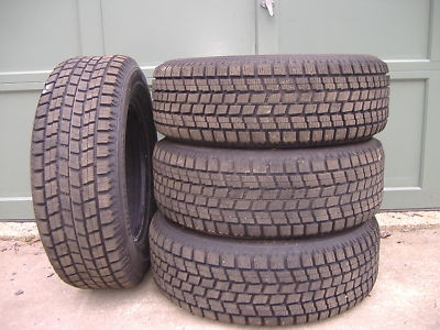 4 Bridgestone Blizzak WS50 225/60/15 Winter Tires