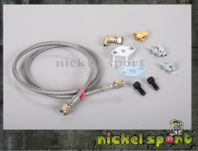 Gart T3 T4 T04B Turbo Turbocharge Oil Feed Line Kit