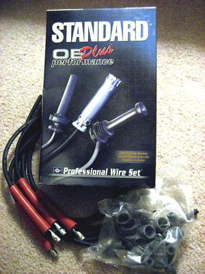 Universal Spark Plug Wire Set 4 Cylinder 7 mm