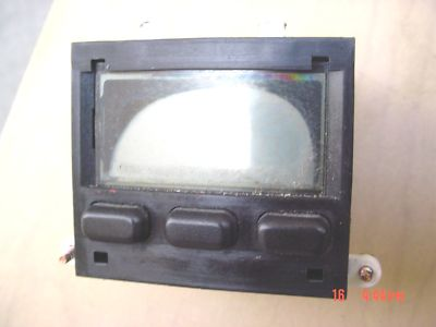 Porsche 944 turbo, OEM LCD Clock For Parts only