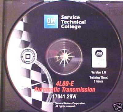 4L80E Automatic Transmission  GM CD Training