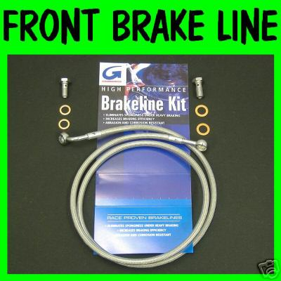 200609 FXDLI STAINLESS STEEL BRAIDED FRONT BRAKE LINE