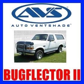 25738 AVS Bug Hood Shield Ford F150 / Bronco 19921996