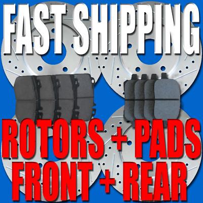 Audi Turbo Quattro non Quattro 89 90 91 FR Rotors Pads