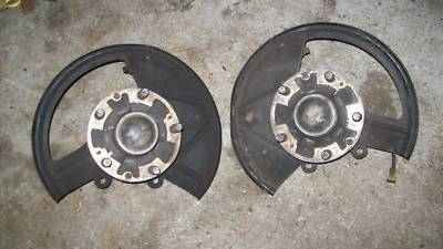 1987 Porsche 944 Turbo ABS Spindles  Hubs spindle hub