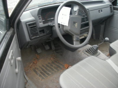 86 87 MAZDA B2000 MANUAL TRANSMISSION 5 SPD