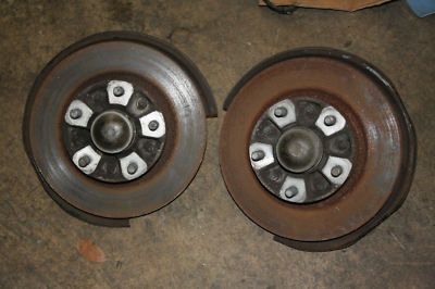 PORSCHE 944 TURBO 86 HUBS AND SPINDLES SET