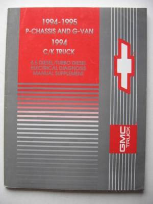1994 Chevy GMC Truck 6.5 Diesel/Turbo Diesel Manual