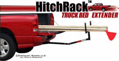 PICKUP TRUCK BED HITCH EXTENDER RACKLADDERCANOECL
