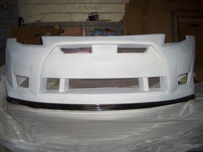 2003  2008 NISSAN 350Z CARBON LIP GTR FRONT BUMPER