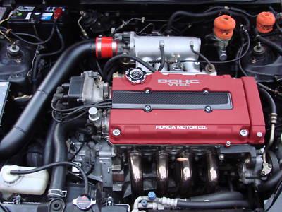 b16 b18 b20 Type R CARBON FIBER Spark Plug Cover Civic