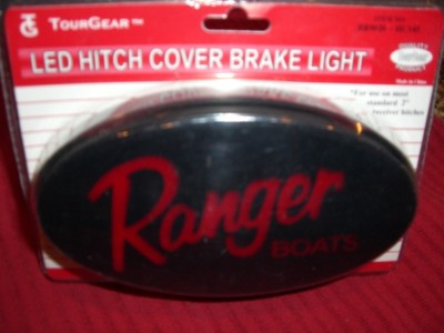 Ranger Boats LED Hitch Cover Brake Light  fits 2″ rec.