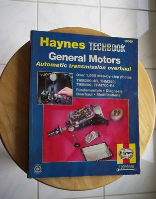 Haynes techbook GM automatic transmission repair book