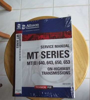 Allison automatic transmission MT series  repair manual