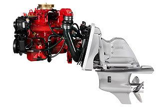 3.0GL  VOLVO PENTA 4 CYLINDER GAS ENGINE 3 LITER