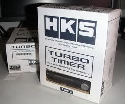 HKS TYPE 0 BLACK TURBO TIMER PN 41001AK009