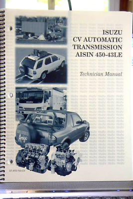 2000 ISUZU N SERIES 45043LE AUTO TRANSMISSION MANUAL