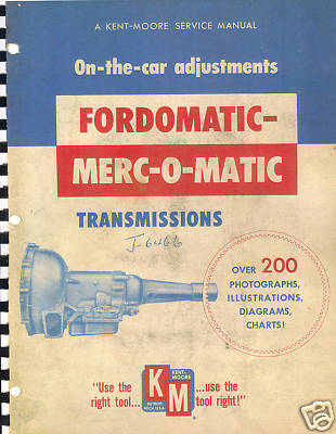 19521955 Ford,19521955 Mercury Transmission Manual…