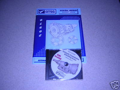GM 4L60E, TRANSMISSION REBUILDING DVD AND ATSG MANUAL.