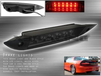9802 CHEVY CAMARO SMOKE FULL LED 3RD BRAKE LIGHT LAMP