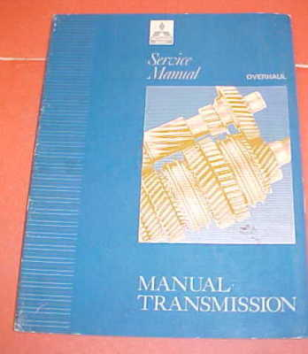 199219931994 MITSUBISHI TRANSMISSION SERVICE MANUAL