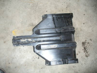 Arctic Cat firecat skid plate engine cover bottom