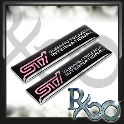 STI BADGE EMBLEM SUBARU IMPREZA WRX TURBO AWD GC8 GDB