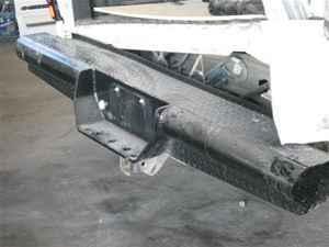 9907 Chevrolet Silverado Rear Step Bumper  LKQ